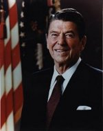 Ronald Reagan, (R-CA), 40th President of the United States (1981-1989)